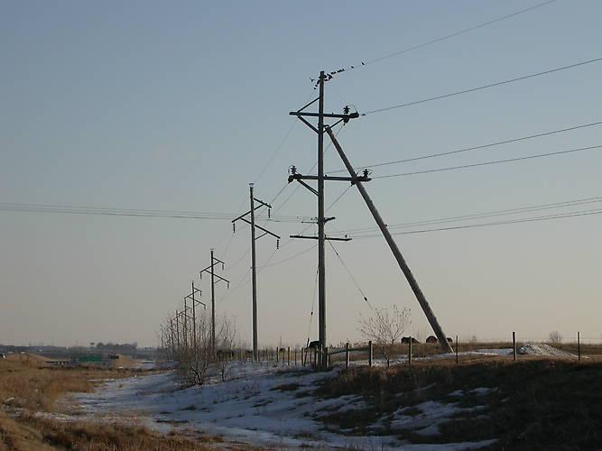 Utility Pole Push Brace