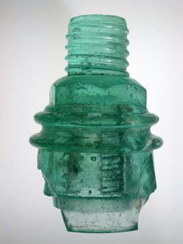 Lt Aqua CD 158.9 Boston Bottle Works found in GA