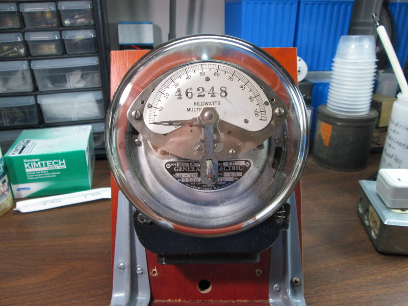Ge Meter Reader : Go withs gt general electric type m demand meter